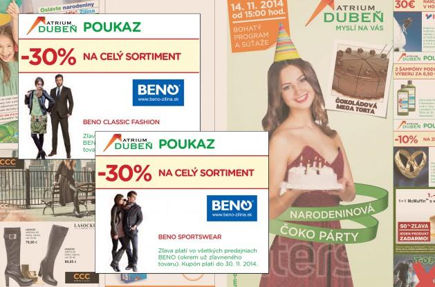 Obchodné centrum Atrium Dubeň_zľava