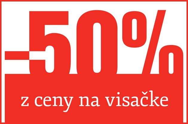 Výpredaj 50%