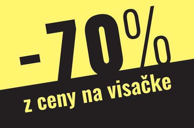 Predávame so 70% ZĽAVOU!