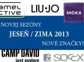 Od jesene 2013 nové značky