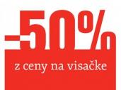 Práve teraz -50% v našich predajniach